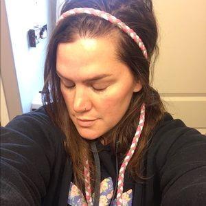 Braided Headband Belt Scarf Elastic Accessory 57in